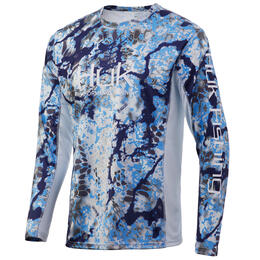 Huk Men's Kryptek Long Sleeve ICON X Shirt