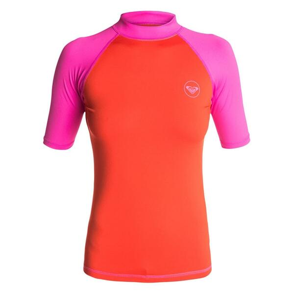 Roxy Jr. Girl's Sea Bound Short Sleeve Rashguard