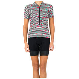 Shebeest Women's S-cut Short Sleeve Cycling Jersey