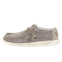 Hey Dude Men's Wally Woven Casual Shoes Beige