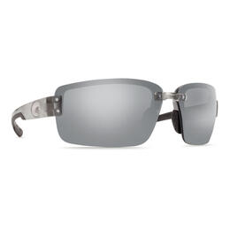 Costa Del Mar Men's Galveston Polarized Sunglasses with Silver Lens