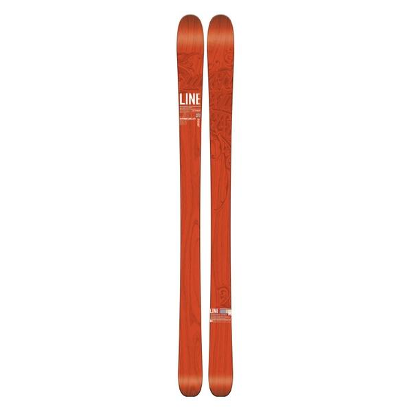 Line Men's Supernatural 92 Lite All Mountain Skis '15 - Flat