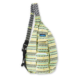 Kavu Women's Rope Bag Backpack Gold Belt