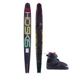 Ho Sports Men's Evo Slalom Waterskis W/ Freemax 7-11 Bindings '18