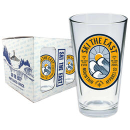 Ski The East Dawn Patrol Pint Glass 4 Pack