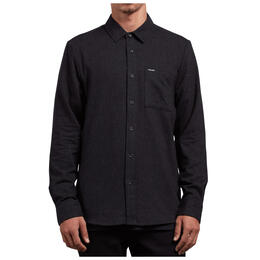 Volcom Men's Caden Solid Long Sleeve Shirt