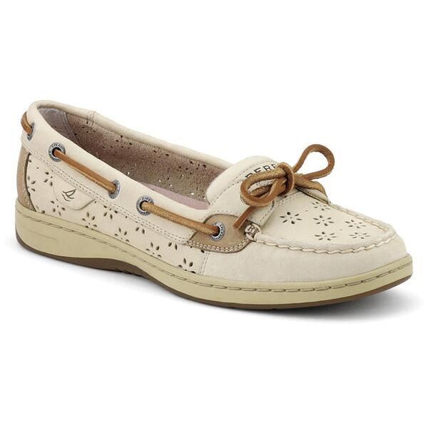 Sperry Women's Floral Perf Leather Angelfish Boat Shoe