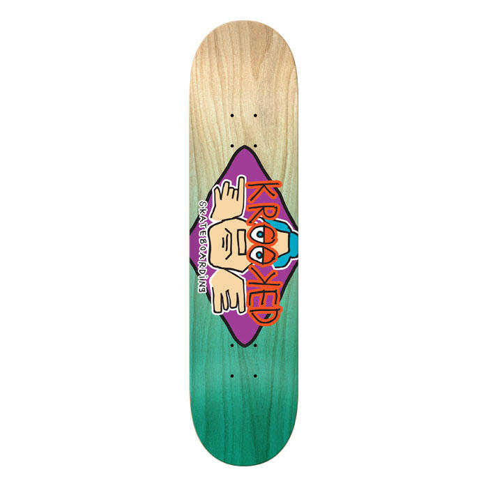 Krooked Arketype Fade 8.06 Skateboard Deck