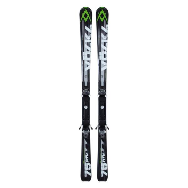 Volkl Men's RTM 75 All Mountain Skis with 4Motion 10.0 D Bindings '13