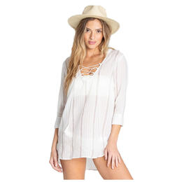Billabong Women's Same Story Woven Cover Up Dress