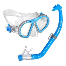 U.S. Divers Toucan PC Mask Eco Dry Jr Snorkel Combo Set