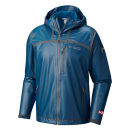 Columbia Men's Outdry Ex Stretch Hooded Shell Rain Jacket