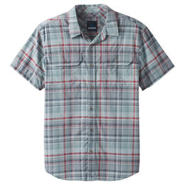prAna Men's Cayman Plaid Short Sleeve Shirt