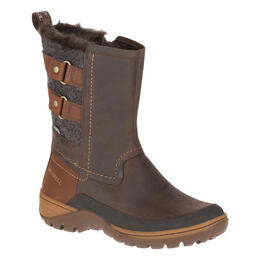 Merrell Women's Sylva Mid Buckle Waterproof Boot