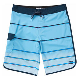 Billabong Men's 73 X Stripe Boardshorts Light Blue