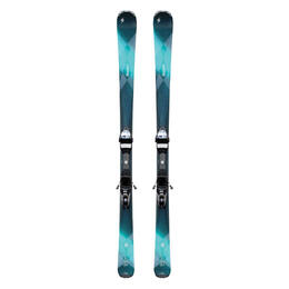 Blizzard Women's Quattro 7.3w All Mountain Skis with IQ TP 10 W Bindings '17