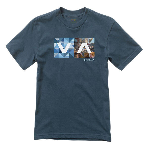 RVCA Men's Building Balance Box T-Shirt