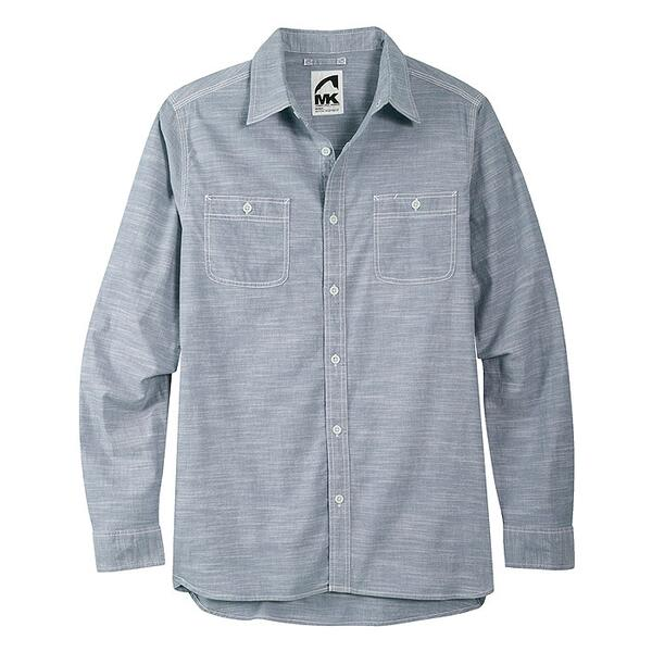 Mountain Khakis Men's Mountain Chambray Long Sleeve Shirt