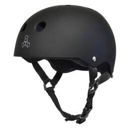 Triple Eight Brainsaver Rubber Skate Helmet