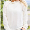 Jadelynn Brooke Women's Downright Cozy Pullover Sweatshirt alt image view 1
