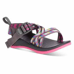 Chaco Girl's ZX/1 EcoTread Sandals Fletched Pink