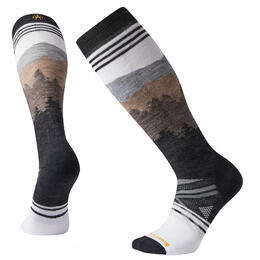 Smartwool Men's PHD Medium Alpenglow Pattern Ski Socks