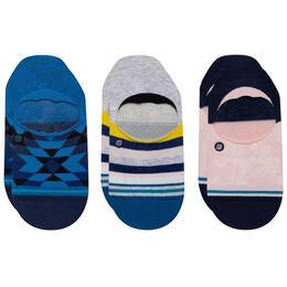 Stance Women's Avalon No Show Three Pack Socks