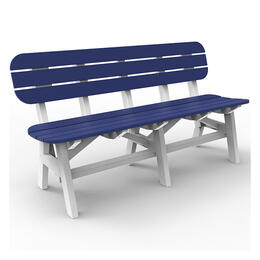 Seaside Casual Portsmouth 5 ft. 2 Tone Bench