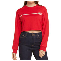 Dickies Girl Women's Vintage Stamp Cropped T Shirt