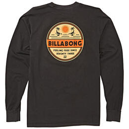 Billabong Men's Scorpion Palm Long Sleeve Shirt