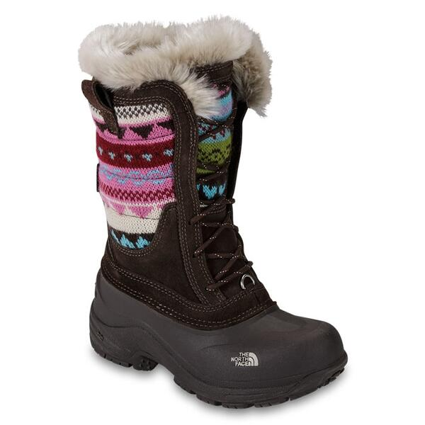 The North Face Girl's Shellista Lace Novelty Apres Ski Boots Right