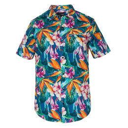 Hurley Men's Beach Cruiser Short Sleeve Shi