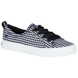Sperry Women's Crest Vibe Gingham Casual Shoes