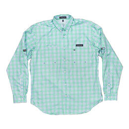 Southern Marsh Men's Harbor Cay Drake Grid Long Sleeve Shirt