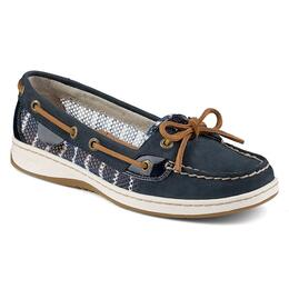 Sperry Women's Angelfish 2-Eye Bretton Stripe Mesh Casual Shoes