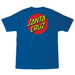 Santa Cruz Men's Classic Dot Chest T Shirt