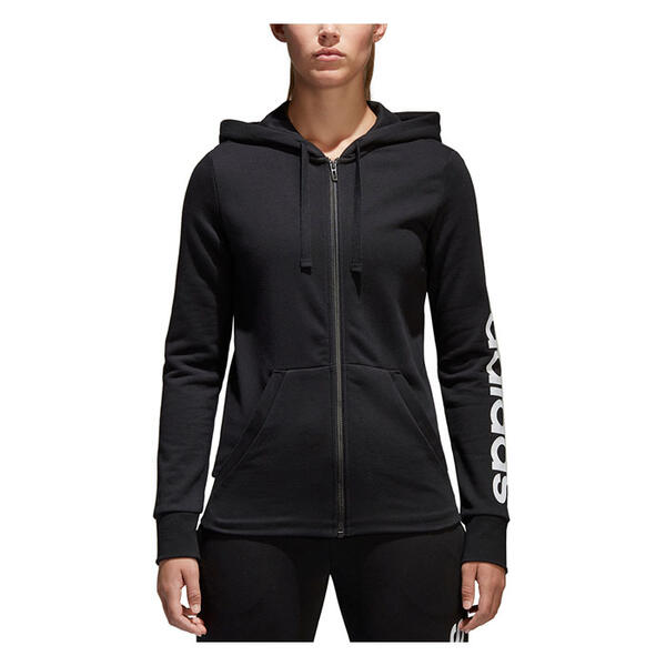 Adidas Women's Essentials Linear Full-Zip H