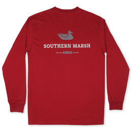 Southern Marsh Men's Trademark Duck Long Sleeve Tee Shirt