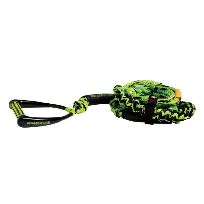 Straight Line 8.5 Handle Knotted Surf Rope