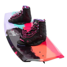 Hyperlite Women's Eden Wakeboard w/ Jinx 8-11 Bindings '17