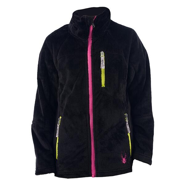 Spyder Girl's Caliper Fleece Jacket