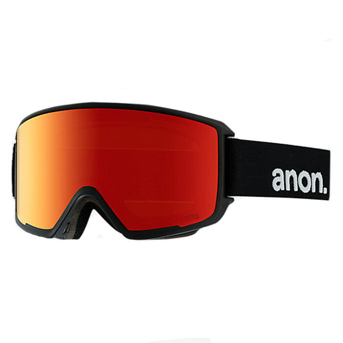 Anon Men's M3 Snow Goggles With Red Solex L