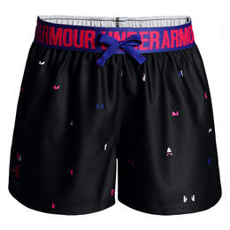 Under Armour Girl's Play Up Printed Shorts