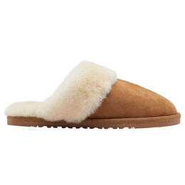 Lamo Sheepskin Women's Doubleface Sheepskin Scuff Slippers