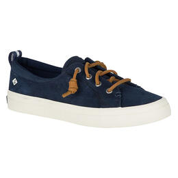 Sperry Women's Crest Vibe Navy Washable Leather Casual Shoes