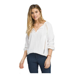 prAna Women's Tacana Peasant Top