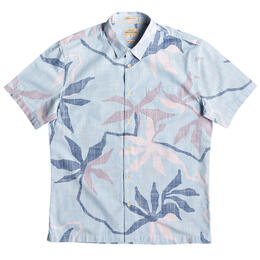 Quiksilver Men's Gully Floral Short Sleeve Shirt