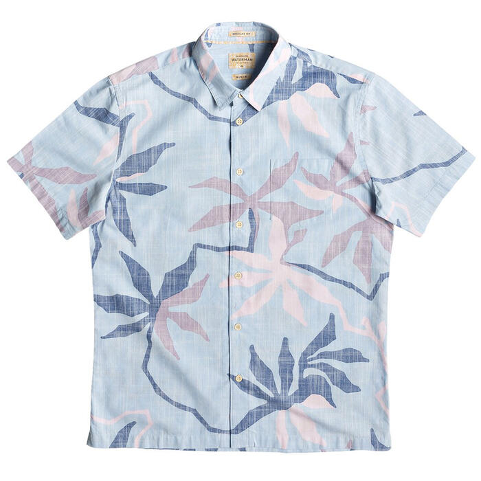 Quiksilver Men's Gully Floral Short Sleeve