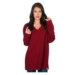Lauren James Women's Shaggy V-neck Sweatshirt
