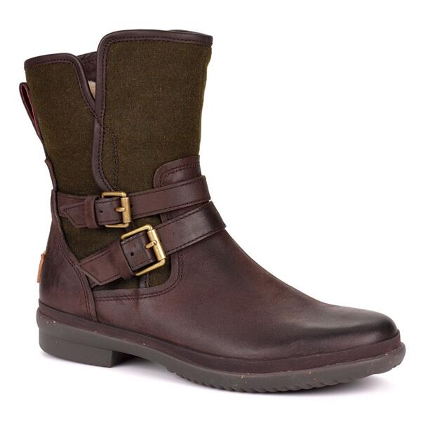 UGG® Women's Simmens Leather Snow Boots Right Side
